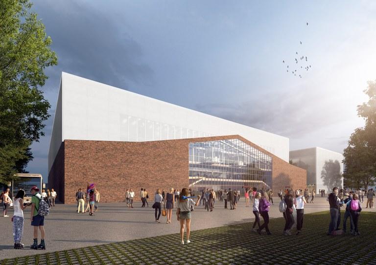 Příprava stavby nové multifunkční haly v Ostravě pokračuje