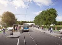 Pro novou tramvajovou trať je polovina dotázaných obyvatel, proti je třetina