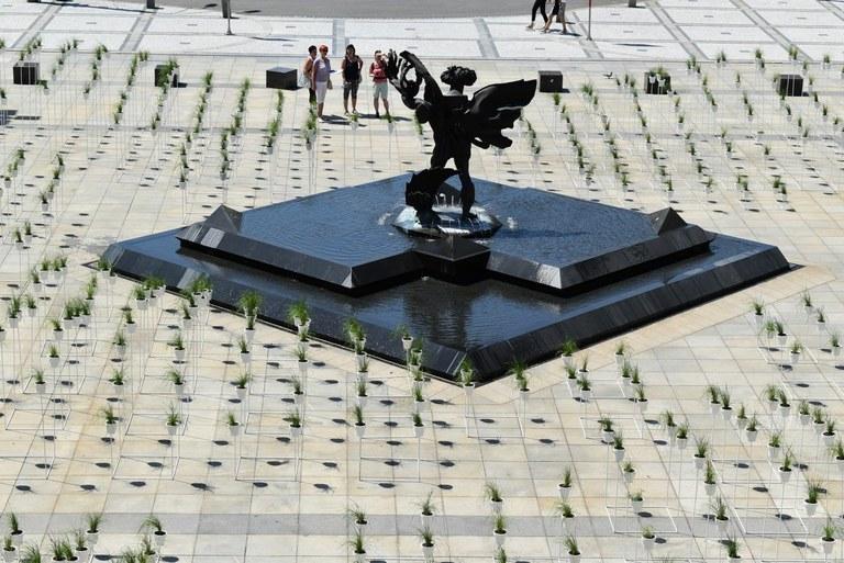 Prokešovo náměstí zdobí 790 květináčů