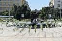 Prokešovo náměstí zdobí 790 květináčů.