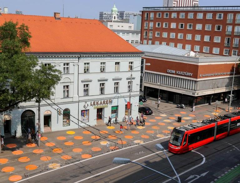 Proměna ulic 28. října a Opavská v městskou třídu začne rychlými zásahy