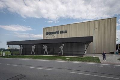 Sportovní hala v Nové Bělé přivítá návštěvníky začátkem prázdnin