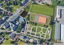 Situační plán dopravně sportovního areálu.