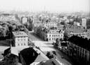 Fotografie pořízená z věže dolu Jindřich ve 30. letech minulého století. Vpravo dole je areál zasílatelství firmy Hanke. Foto: Archiv města Ostravy