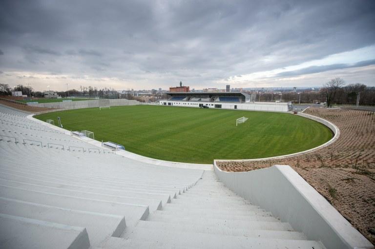 Upravený areál Bazaly bude sloužit fotbalové akademii