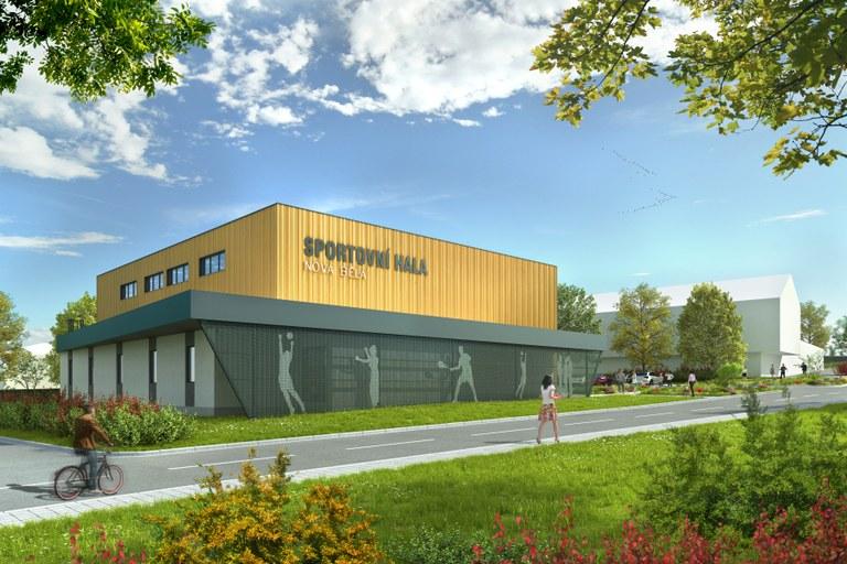 V Nové Bělé se v březnu začne stavět nová sportovní hala