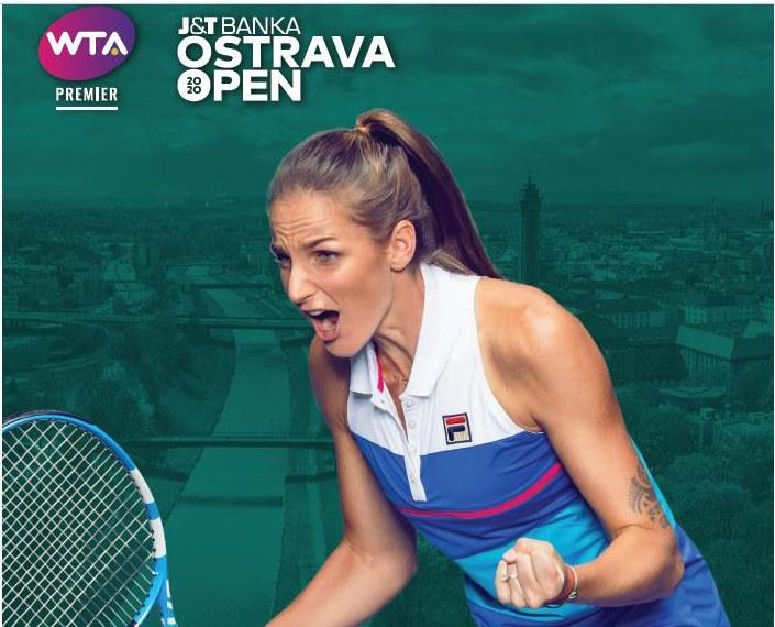 V Ostravě startuje špičkový ženský tenisový turnaj