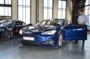 Trasu z Mnichova do Ostravy absolvoval i vůz Tesla.