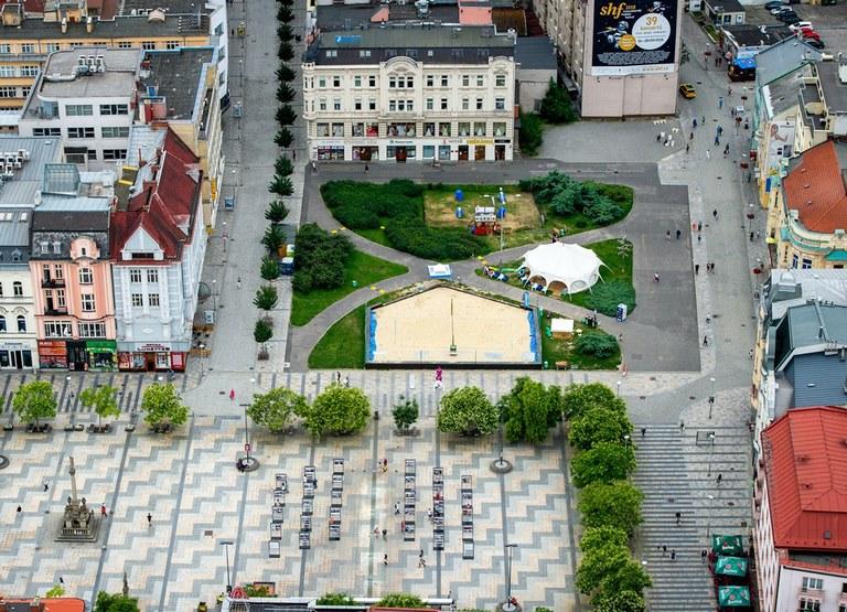 Veřejná debata o oddychové zóně Masarykova náměstí