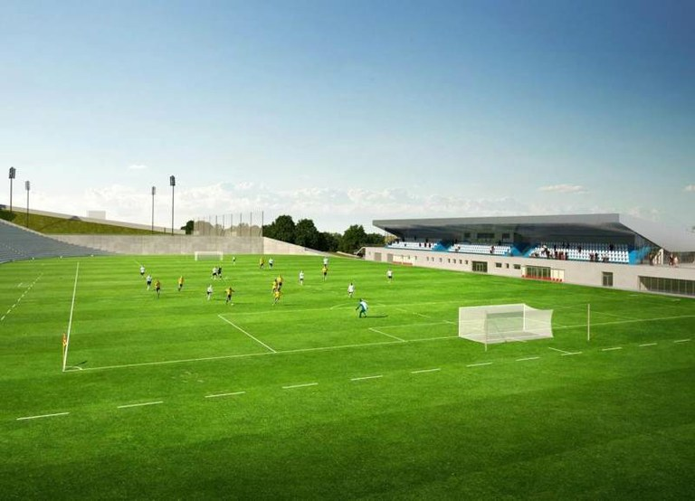 Začíná výstavba fotbalové akademie