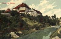 Zámek v Polské Ostravě na poč. 20. století