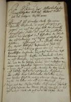 Testament purkmistra Moravské Ostravy Vavřince Máchy publikovaný 12. 2. 1776.