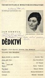 Herečka Kovaříková