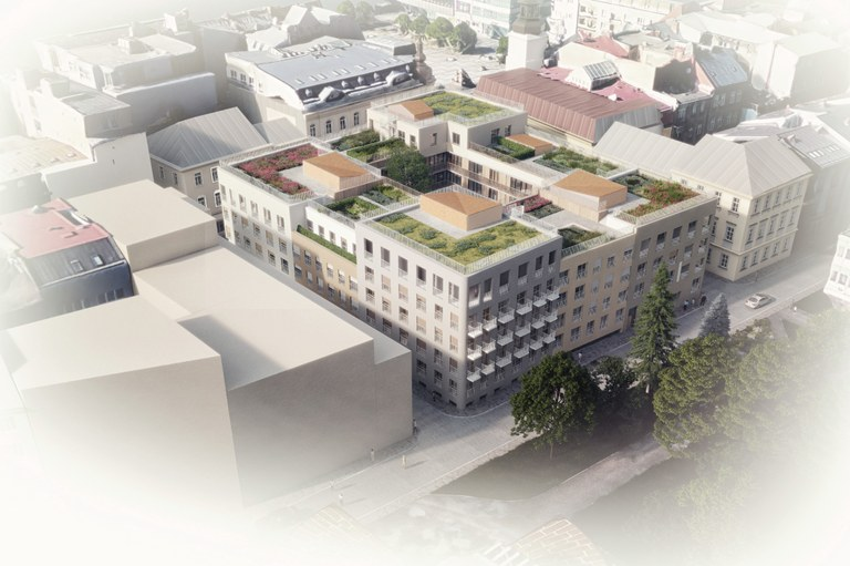 City offers the Nové Lauby project for sale