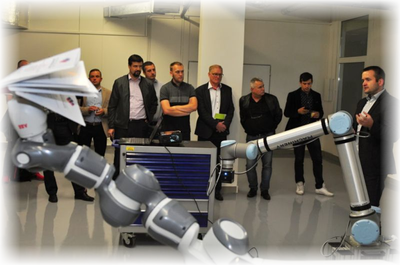 Collaborative Robotics Centre opened