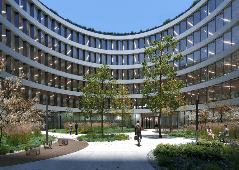 """Contera is set to build """"Organica"""" – a new smart office building in the heart of Ostrava"""