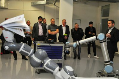 First collaborative robots in Ostrava