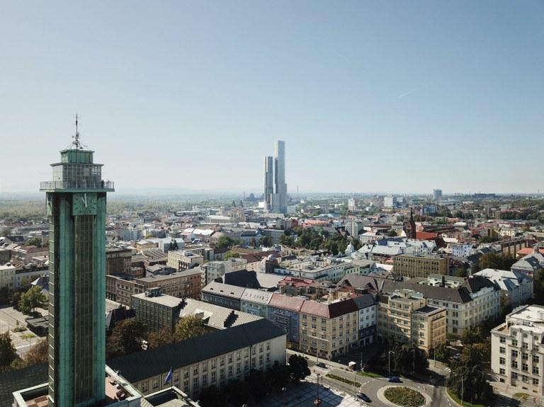 Ostrava city centre will boast the Czech Republic's tallest building