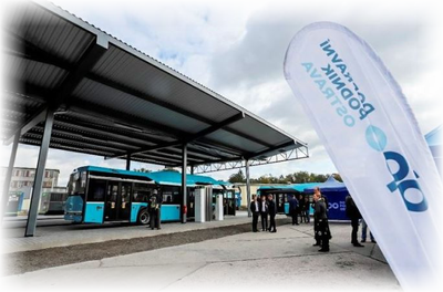 Ostrava has the most modern CNG filling station in the Czech Republic