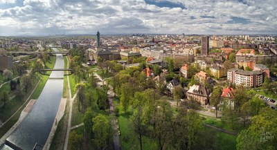 Ostrava is offering land for sale at an industrial zone and a vacant city centre site