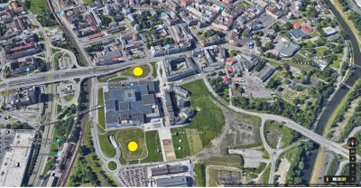 Ostrava is offering two attractive sites for development in the heart of the city