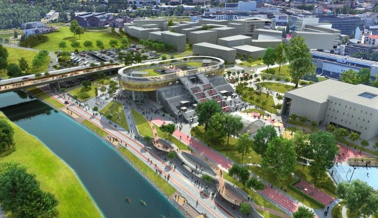 Ostrava plans a new promenade next to the river