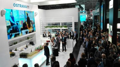 Ostrava presented at EXPO REAL its great potential