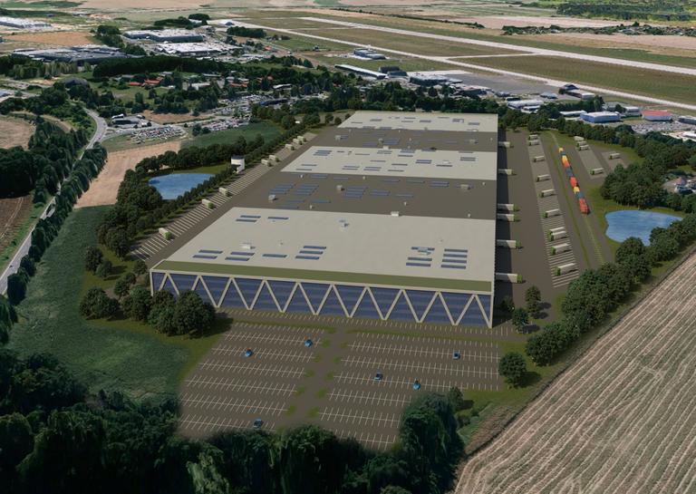 Ostrava sells land at the Mošnov industrial zone to international developer Panattoni