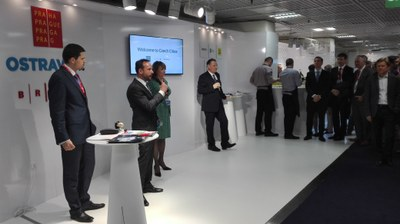 Ostrava appeared at MIPIM Cannes as part of the joint 'Czech Cities' exhibition