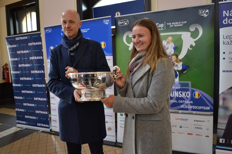 Ostrava will host the Fed Cup