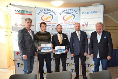 Ostrava's 2019 Golden Spike has booked its first star names