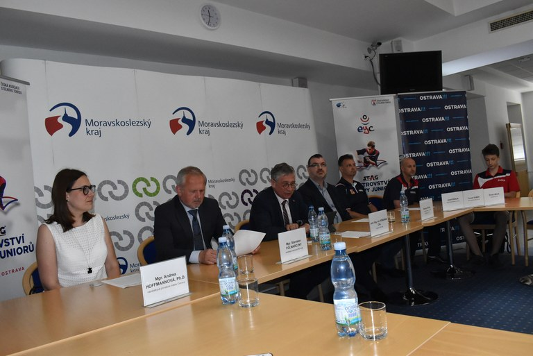 TABLE TENNIS EUROPEAN YOUTH CHAMPIONSHIPS ARE RETURNING TO OSTRAVA AFTER SIX YEARS