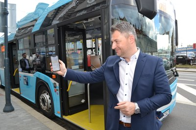 UNLIMITED WI-FI AND NEW APPLICATION FOR PUBLIC TRANSPORT PASSENGERS IN OSTRAVA